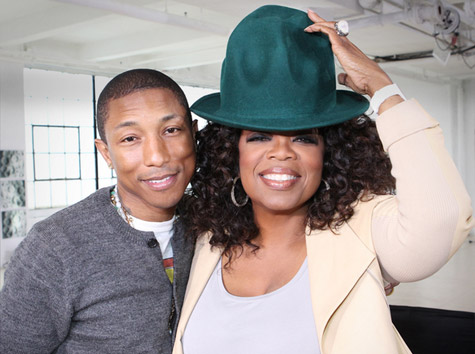 Pharrell Williams: Happy Emotional Moment