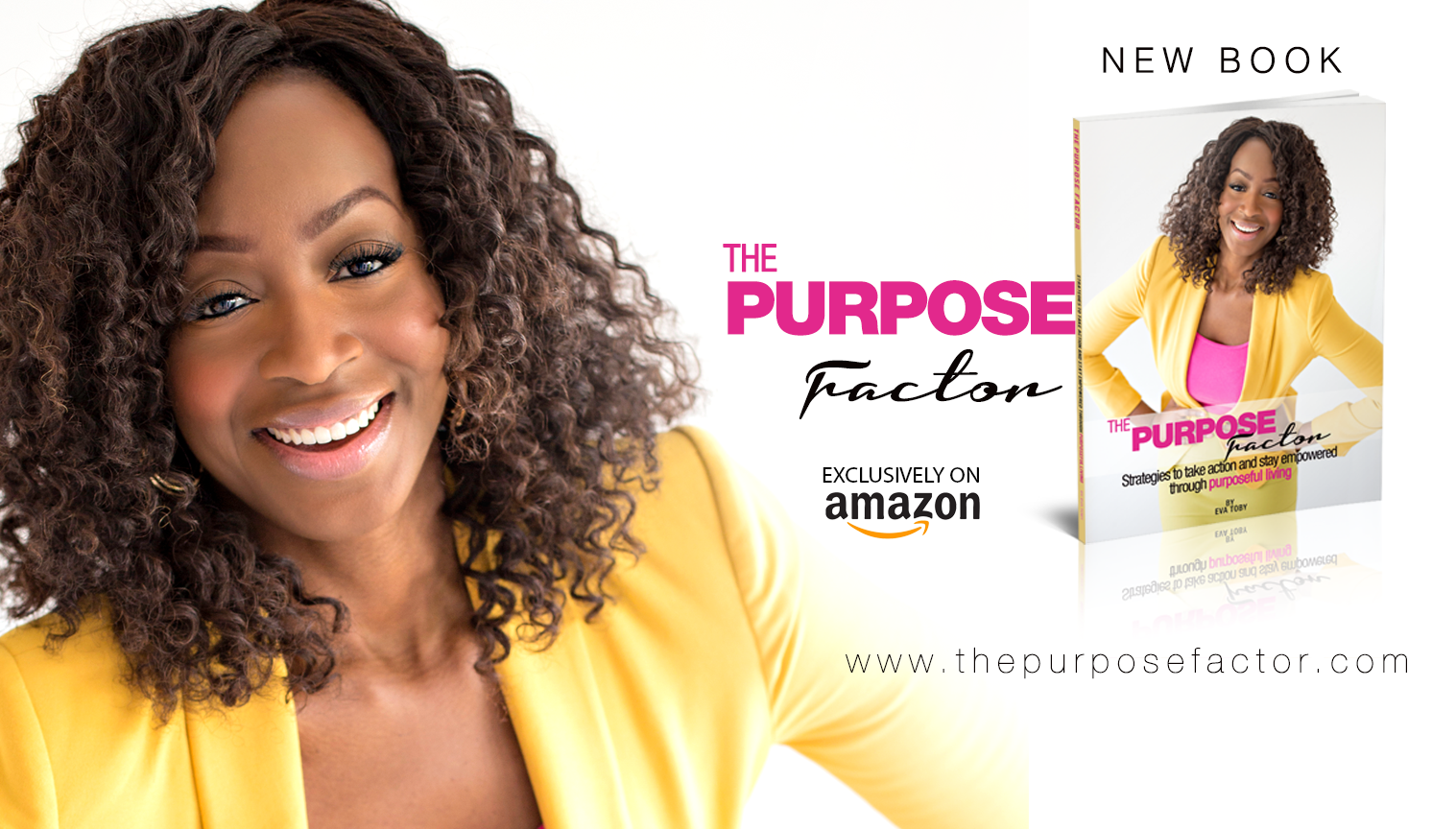 THE PURPOSE FACTOR!! Now Available for Pre-Order
